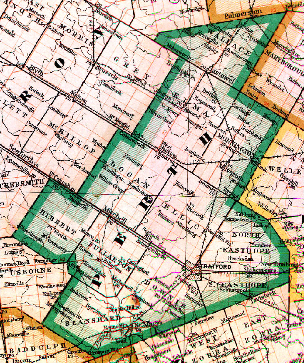 The Changing Shape of Ontario: County of Perth