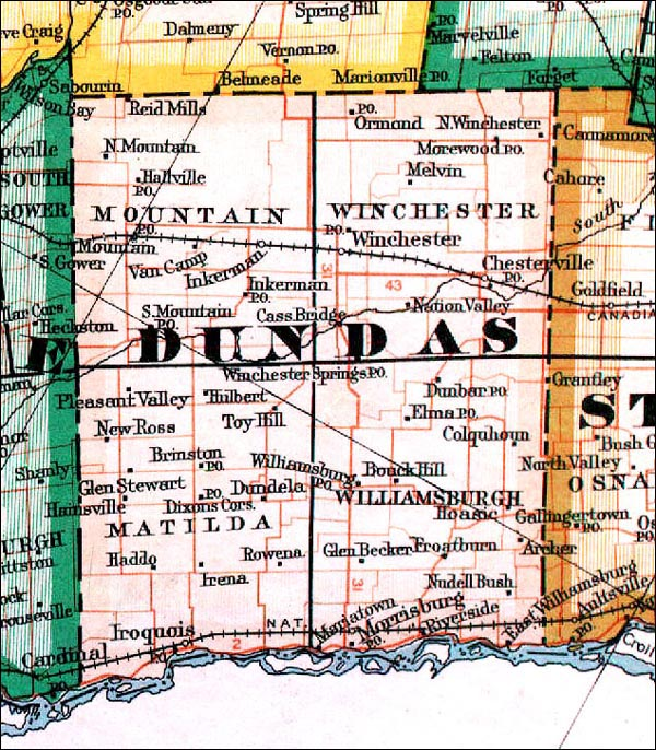Map Of Dundas Ontario