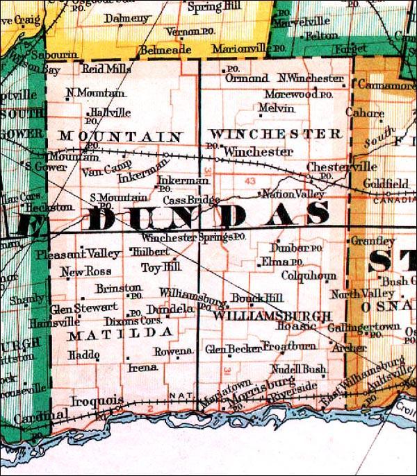 Map Dundas Ontario