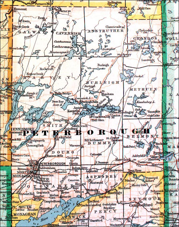 The Changing Shape of Ontario County of Peterborough