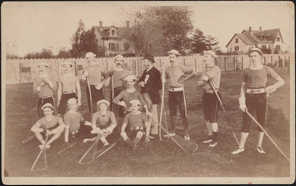 Men's lacrosse team, [ca. 1890]
