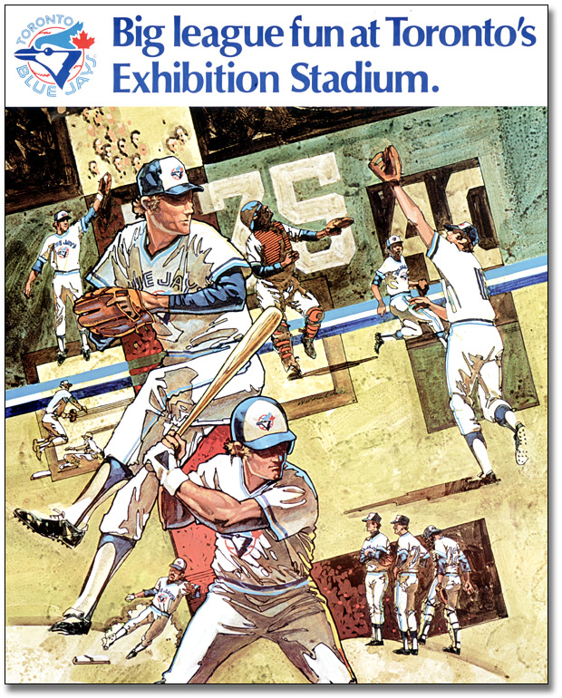 Toronto Blue Jays – Big League Fun at Toronto's Exhibition Stadium, 1977