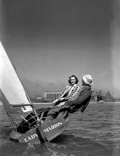 Yachting at the National Yacht Club, Toronto, Ont., [ca. 1940s]