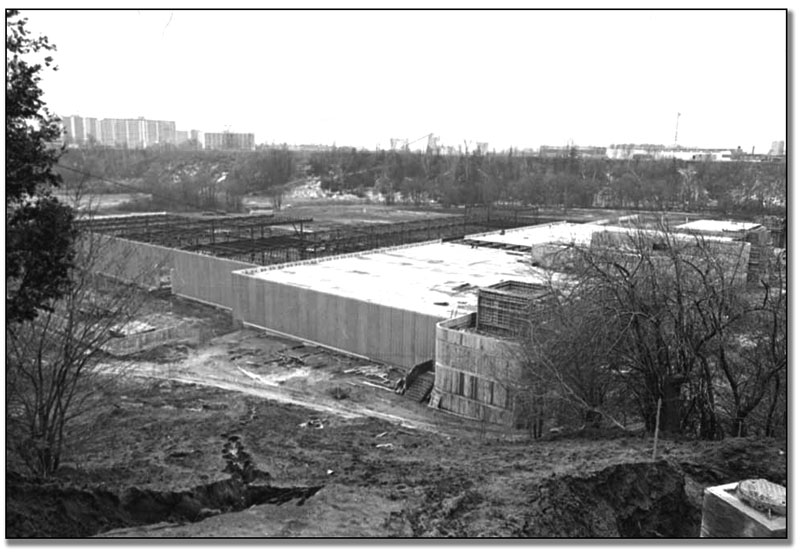 Construction of Ontario Science Centre, January 24, 1967 (67024-19)