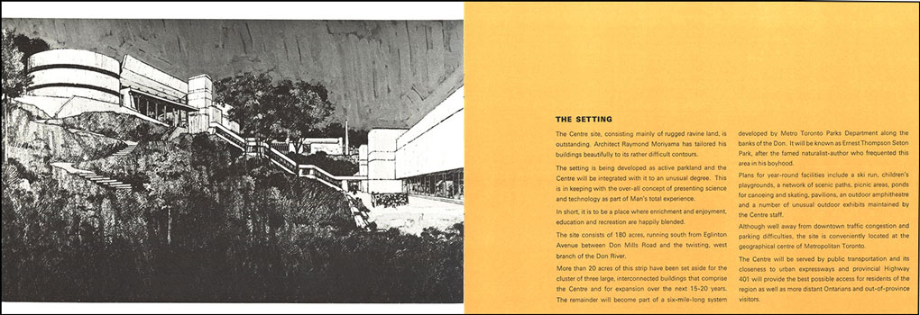 Ontario Science Centre (Centennial Centre of Science and Technology) booklet, ca. October 1966