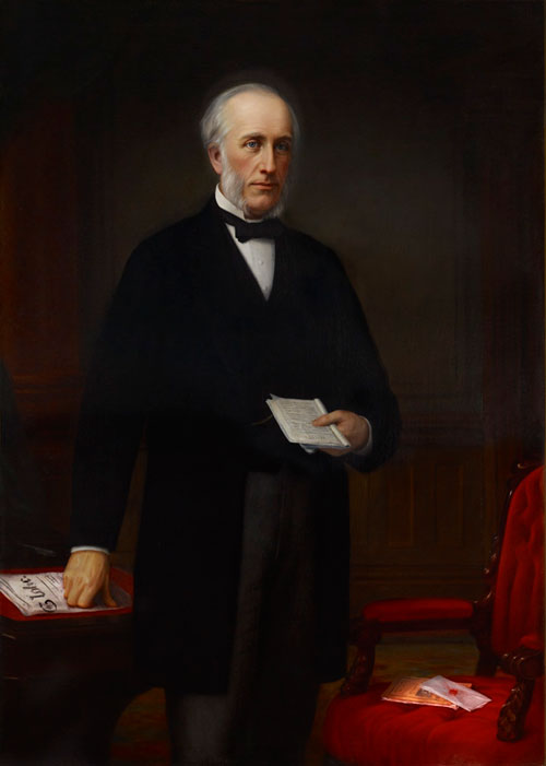Hon. George Brown by John Colin Forbes, donated 1889