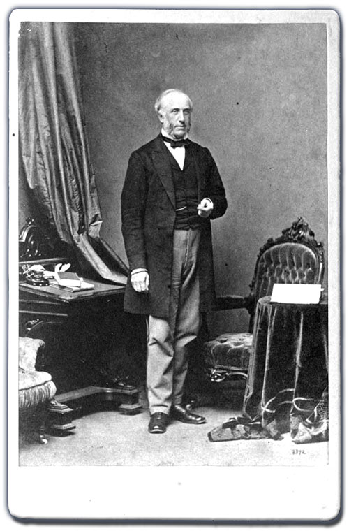 Hon. George Brown, ca. 1860s