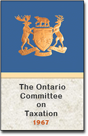 The Ontario Committee on taxation
