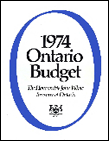 1974 Budget documents
