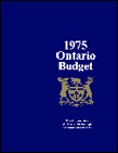 1975 Budget documents