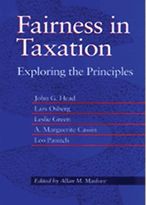 Fairness in Taxation