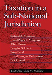 Taxation in a Sub-National Jurisdiction