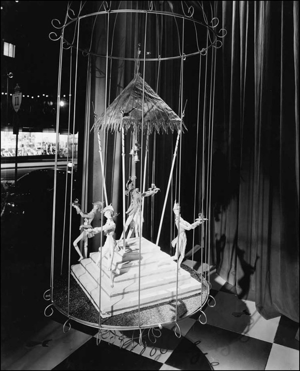 Five Golden Rings, Twelve Days of Christmas display, 1959