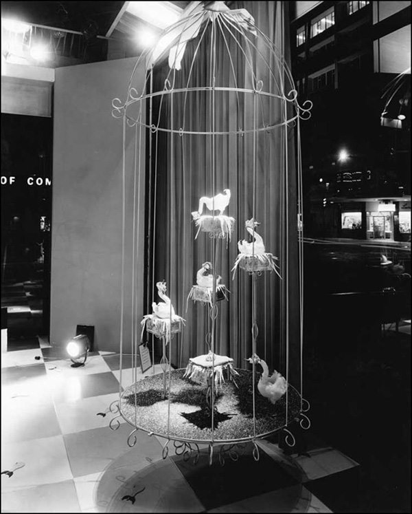 Six Geese a-Laying, Twelve Days of Christmas display, 1959