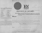 Go to: Example of Marriage Registration 1911 to 1925 (front)