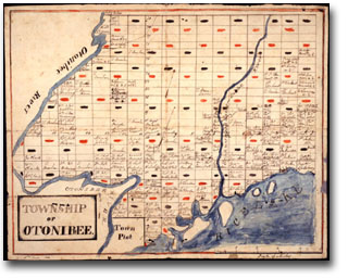 Map: Township of Otonabee, 1820