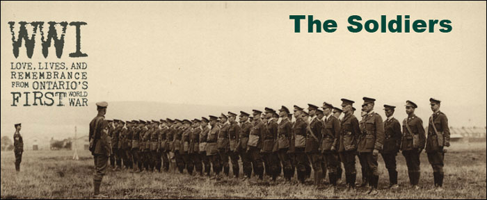 Remembrance Day 2014 Online Exhibit – The Soldiers