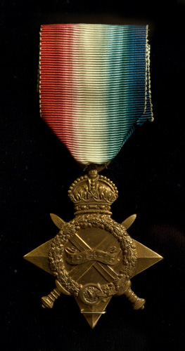 Medal, 15th Battalion, Canadian Expeditionary Force, 1914-15 Star