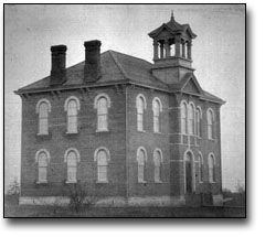 Photo: High School, Thorold, [ca. 1900]