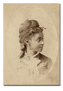 formal portait of a black woman