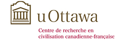 Logo for the Centre de recherche en civilisation canadienne-française of the University of Ottawa